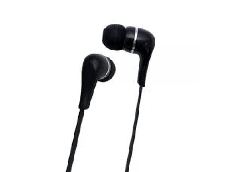 Toshiba Wired Earphone With Mic - RZE-D32E (K) BLACK 3