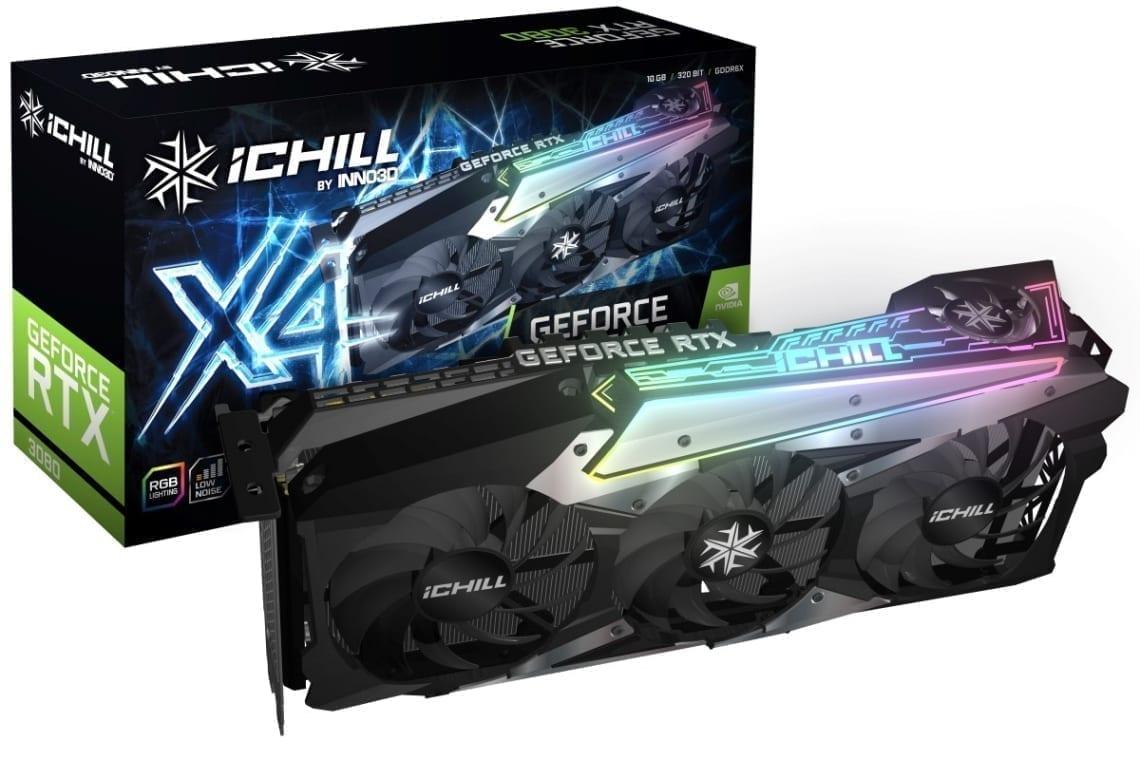 Inno3D Geforce RTX 3080 iChill X4 1