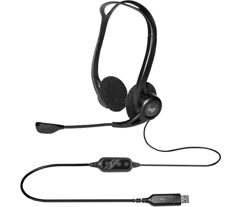 Logitech 960 USB HEADSET 4