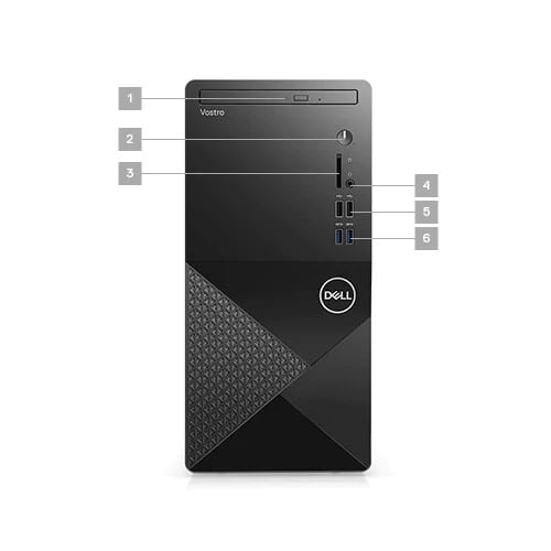 Dell Vostro 3888 Desktop 10th Gen Intel Core i7-10700 8GB Ram 1TB HDD Linux OS - Vostro 3888-i7 2