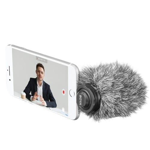 Boya BY-DM200 Amazing Mono Microphone for iPhones - Lightning 4