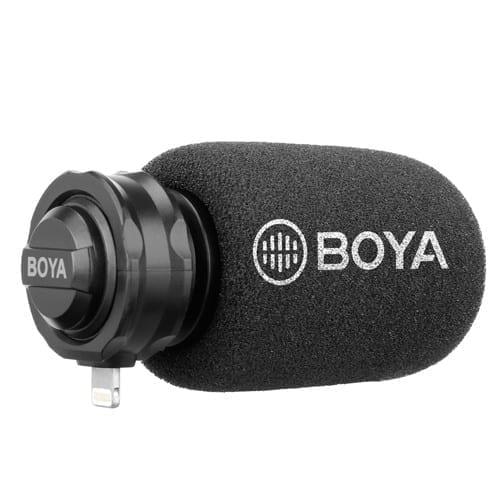 Boya BY-DM200 Amazing Mono Microphone for iPhones - Lightning 1