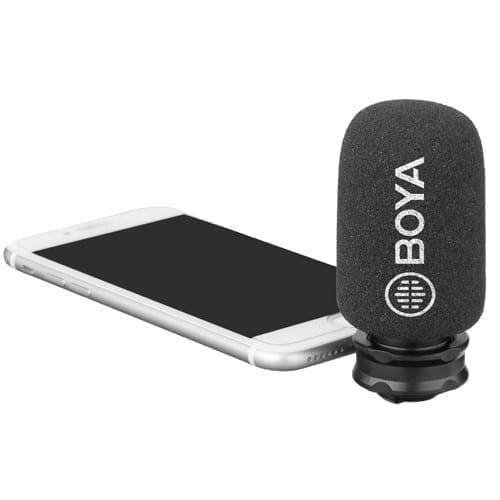 Boya BY-DM200 Amazing Mono Microphone for iPhones - Lightning 2