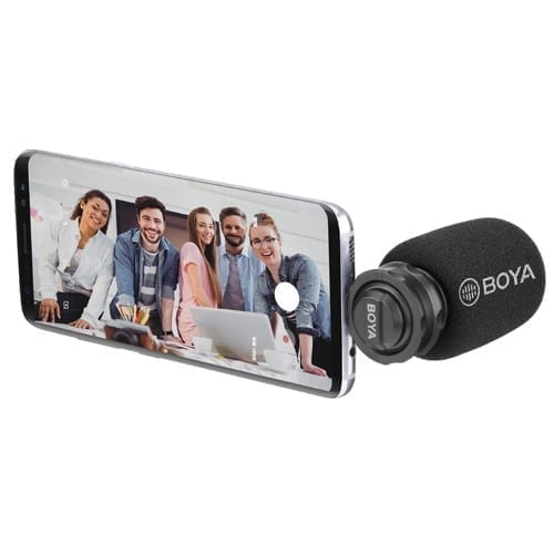 Boya BY-DM100 Amazing Stereo Microphone for Smart Phones - Type C 3