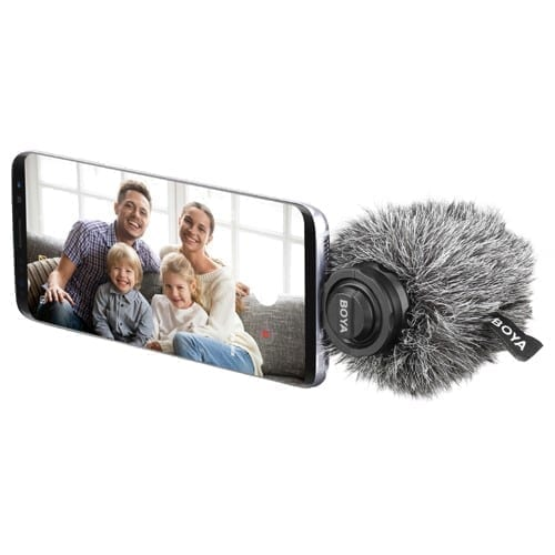 Boya BY-DM100 Amazing Stereo Microphone for Smart Phones - Type C 4