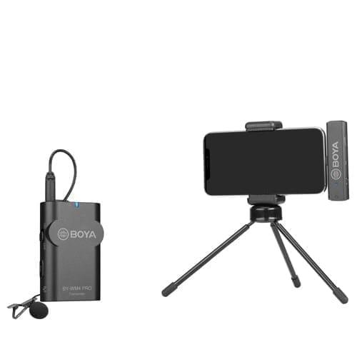 Boya BY-WM4 PRO k3 2.4GHz Wireless Microphone System - Type Lightning 5