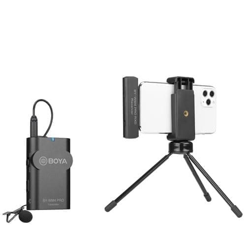 Boya BY-WM4 PRO k3 2.4GHz Wireless Microphone System - Type Lightning 4