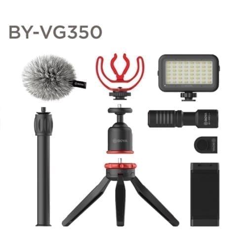 حزمة تصوير كاملة Boya BY-VG350 لتصوير الفلوقات للهواتف الذكية 1