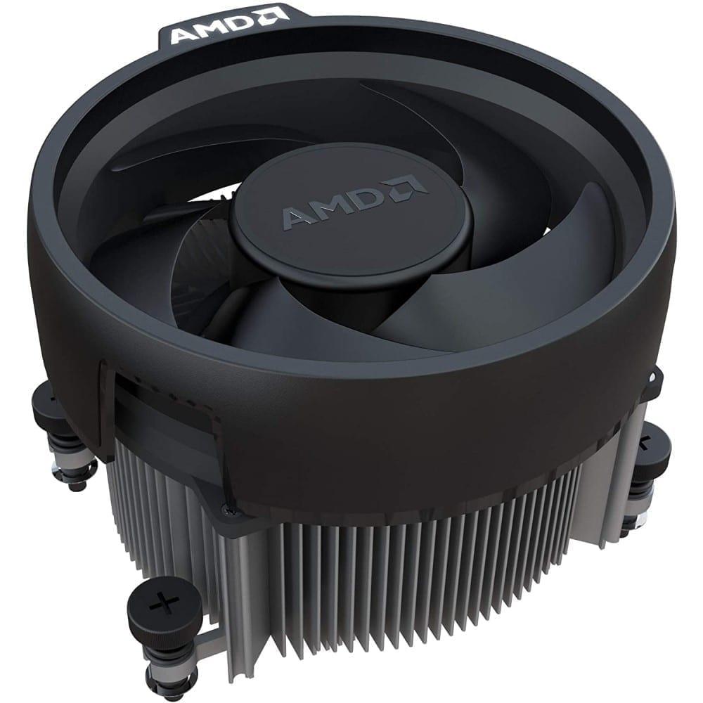 AMD RYZEN 5 3400G 4-Core, 8-Thread Unlocked, 3.7 GHz (4.2 GHz Max Boost) Desktop Processor 7