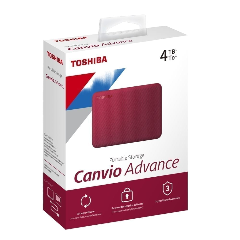 Toshiba Canvio Advance External Hard Disk 3