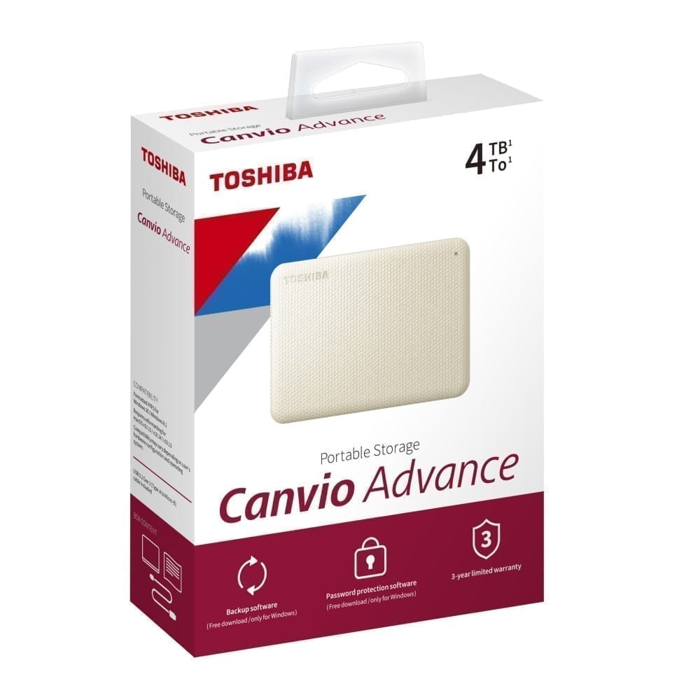 Toshiba Canvio Advance External Hard Disk 2