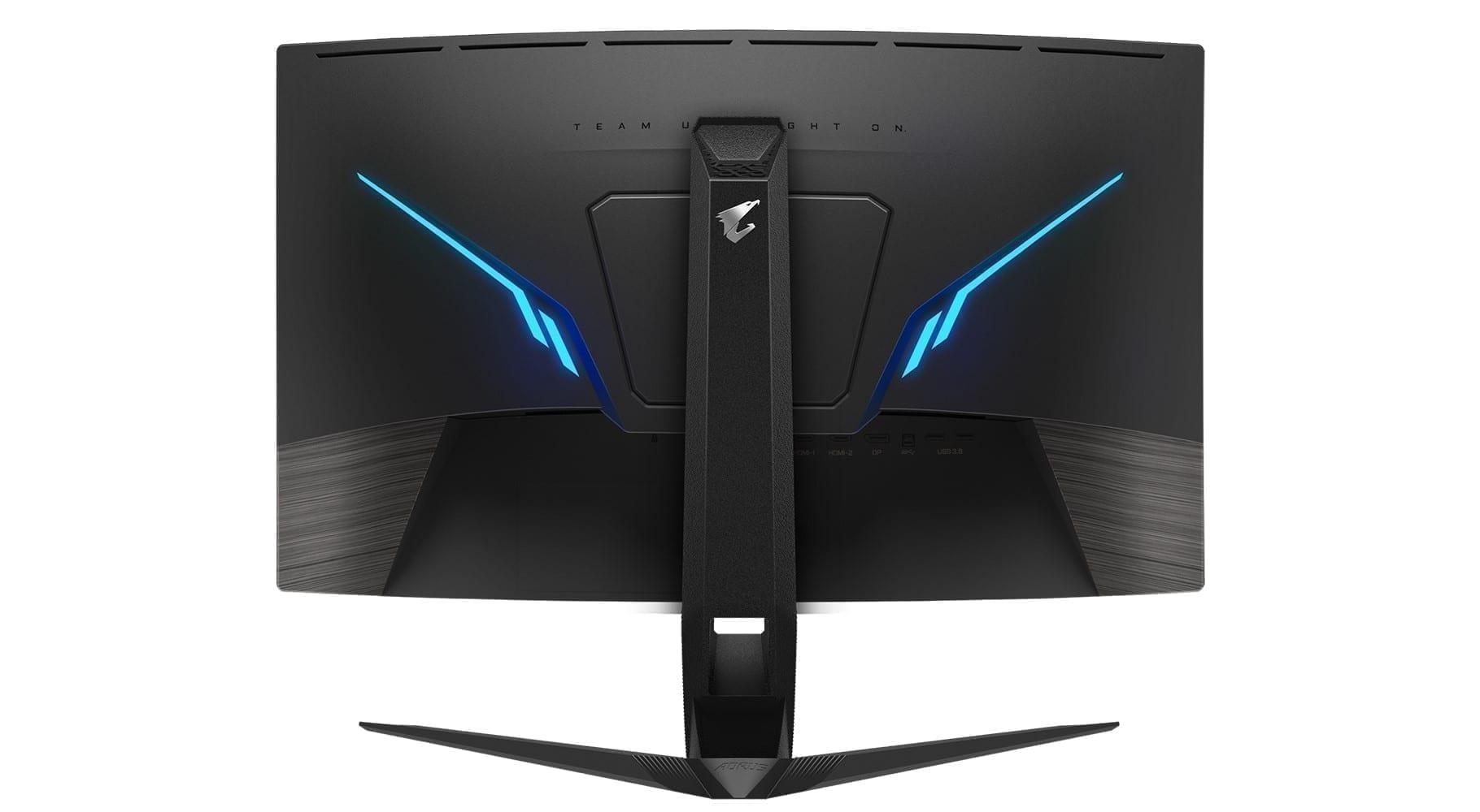 AORUS CV27Q Gaming Monitor 2k - 165Hz - 1ms 5