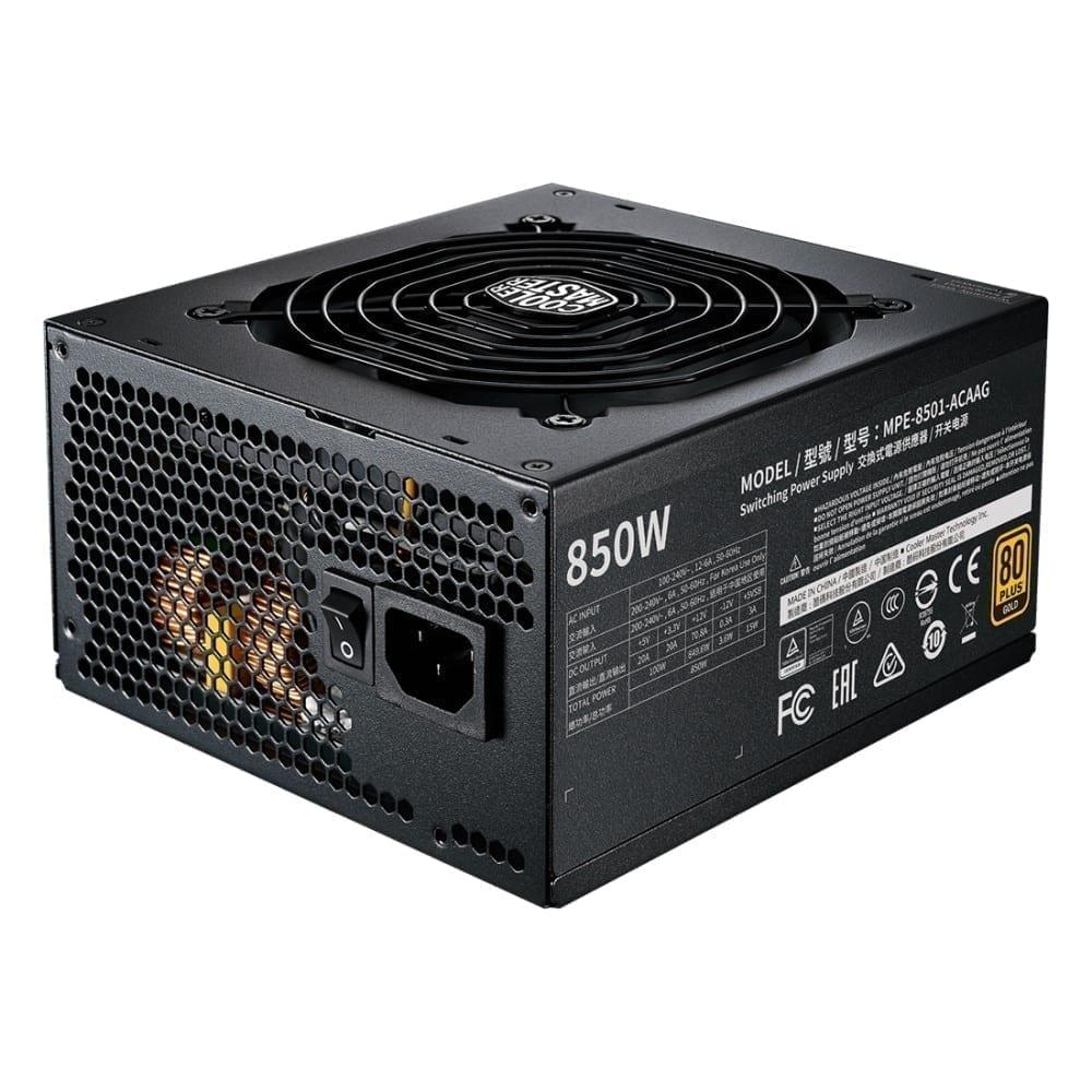 Cooler Master MWE Gold 850 W - V2 Full Modular Power Supply 2