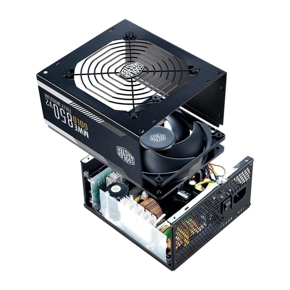Cooler Master MWE Gold 850 W - V2 Full Modular Power Supply 7