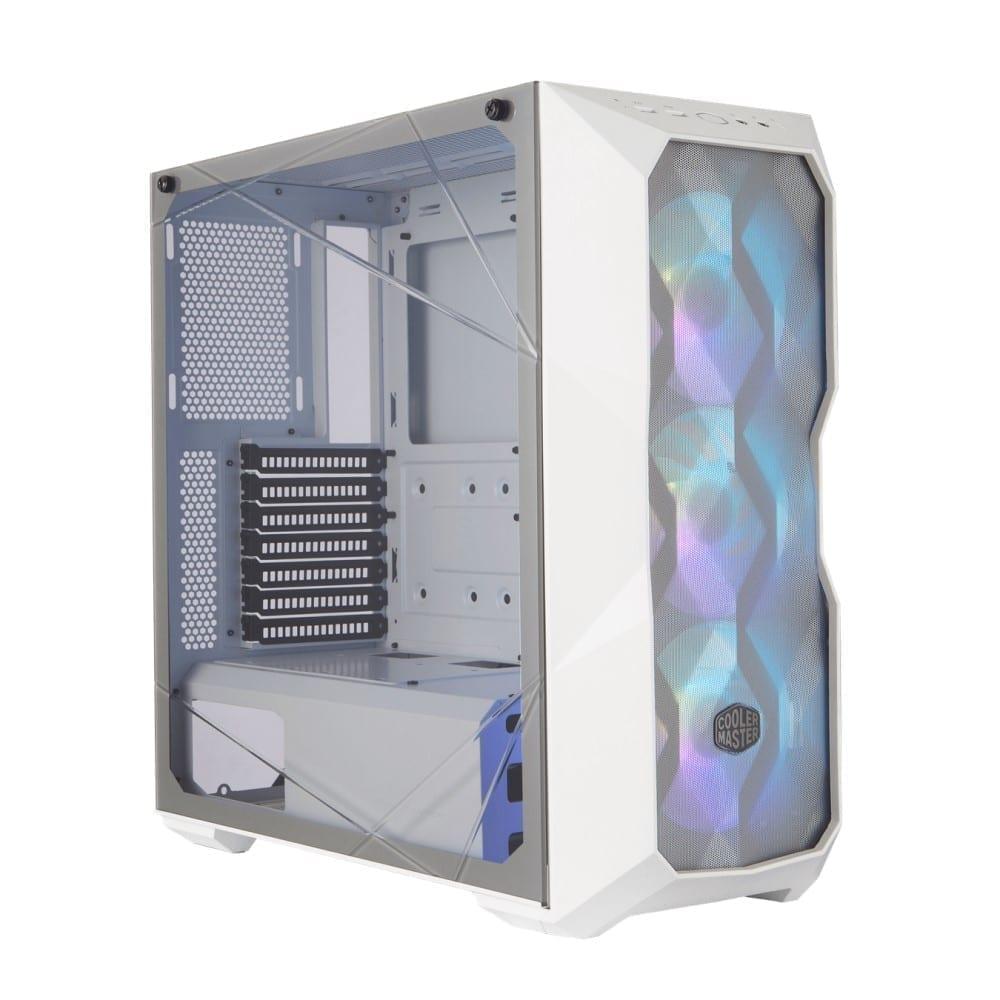 Cooler Master MasterBox TD500 Mesh White ARGB case 1