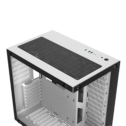 Xigmatek Aquarius Plus Tower Case - White 7