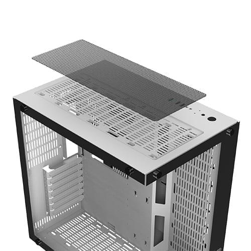 Xigmatek Aquarius Plus Tower Case - White 8