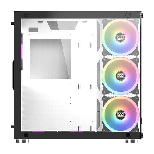 Xigmatek Aquarius Plus Tower Case - White 3