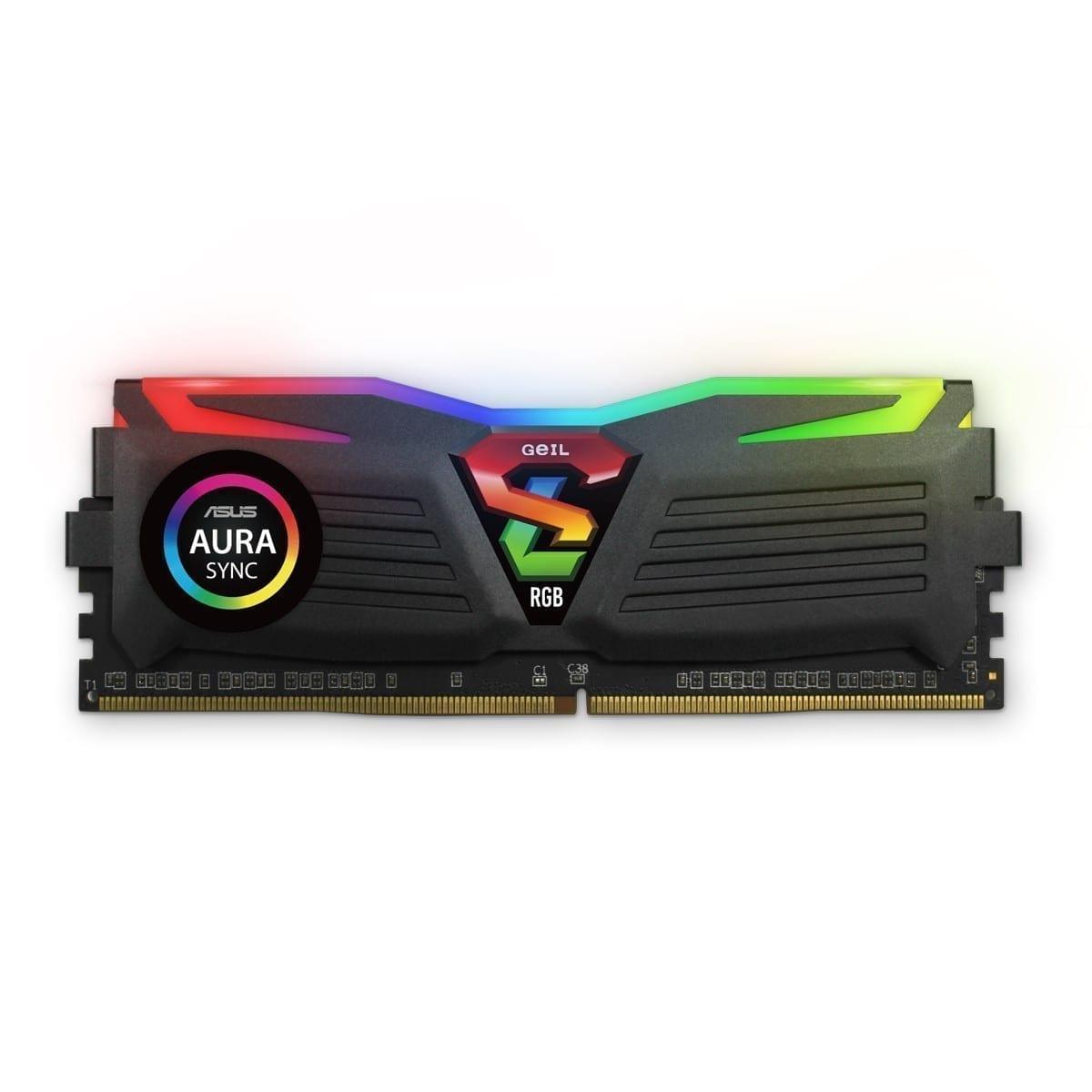 GeIL SUPER LUCE RGB Sync 8GB (8GB*1) DDR4 RAM 2666MHz RGB Black - GLS48GB2666C19SC 3