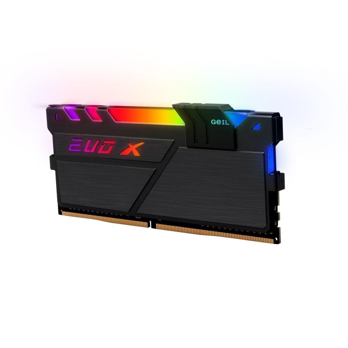 GeIL EVO X II 16GB (8GB*2) DDR4 RAM 3000MHz RGB BLACK - GEXSB416GB3000C16AD 2