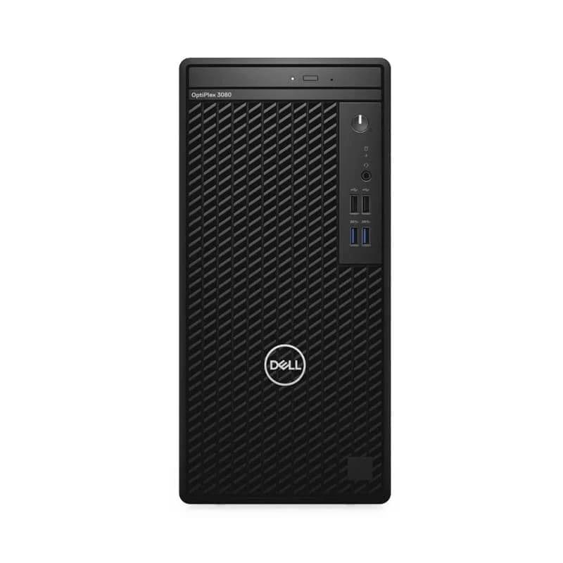 Dell OptiPlex 3080 MT with Core i5-10500 Processor/4GB RAM/1TB HDD/Integrated Intel Graphics/Ubuntu Linux Black – 3080-I5 4