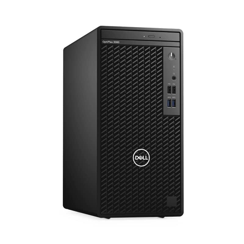 Dell OptiPlex 3080 MT with Core i5-10500 Processor/4GB RAM/1TB HDD/Integrated Intel Graphics/Ubuntu Linux Black – 3080-I5 1