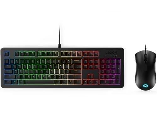 Lenovo Legion KM300 RGB Gaming Combo Keyboard and Mouse - US English 1