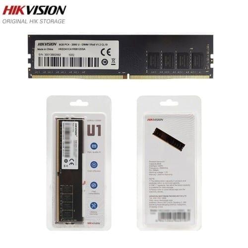 رام 16 قيقا HIKVISION 16GB 2666MHZ UDIMM 1x16GB 1