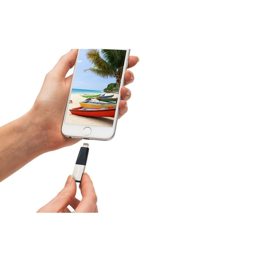 SanDisk USB Flash iXpand Mini Flash Drive For Your iPhone 6