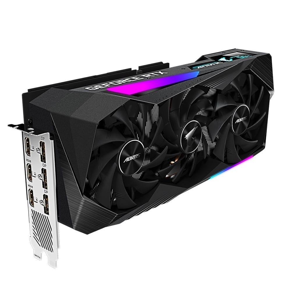 Gigabyte AORUS GeForce RTX 3060 Ti MASTER 8G 5