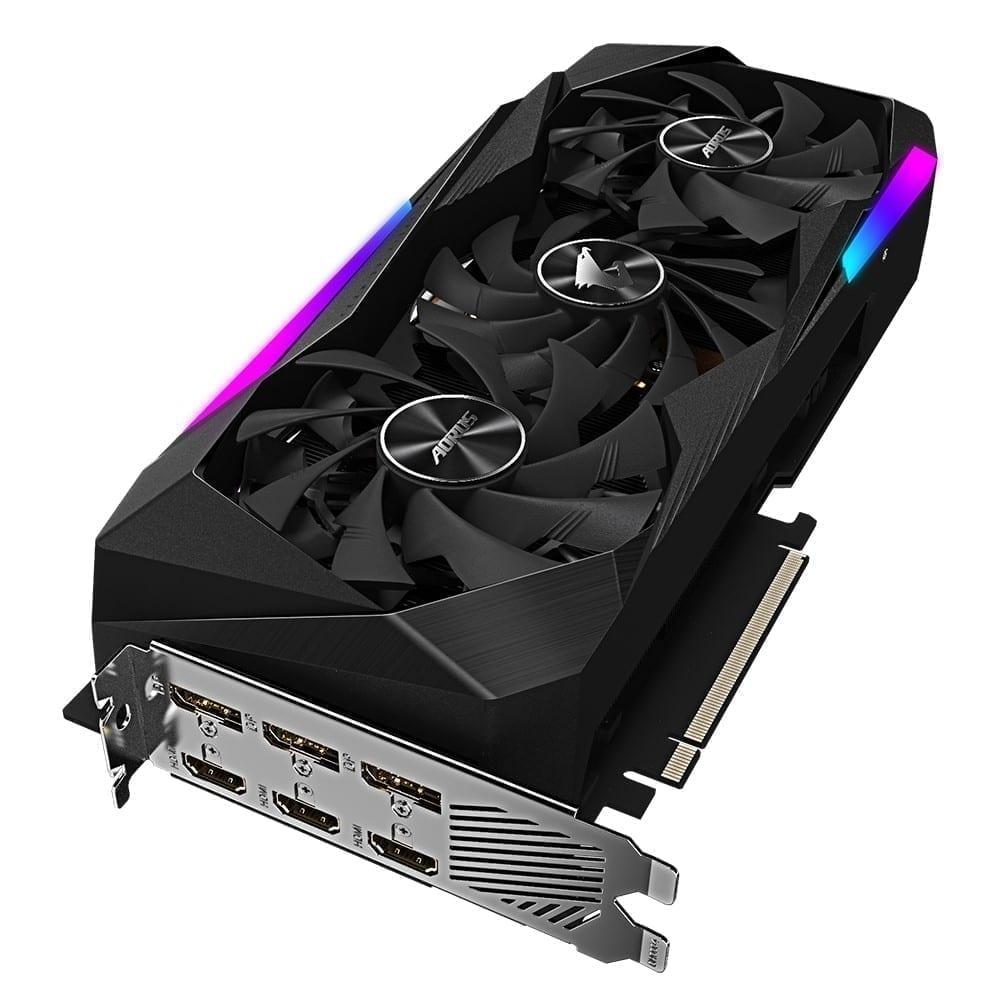 Gigabyte AORUS GeForce RTX 3060 Ti MASTER 8G 4