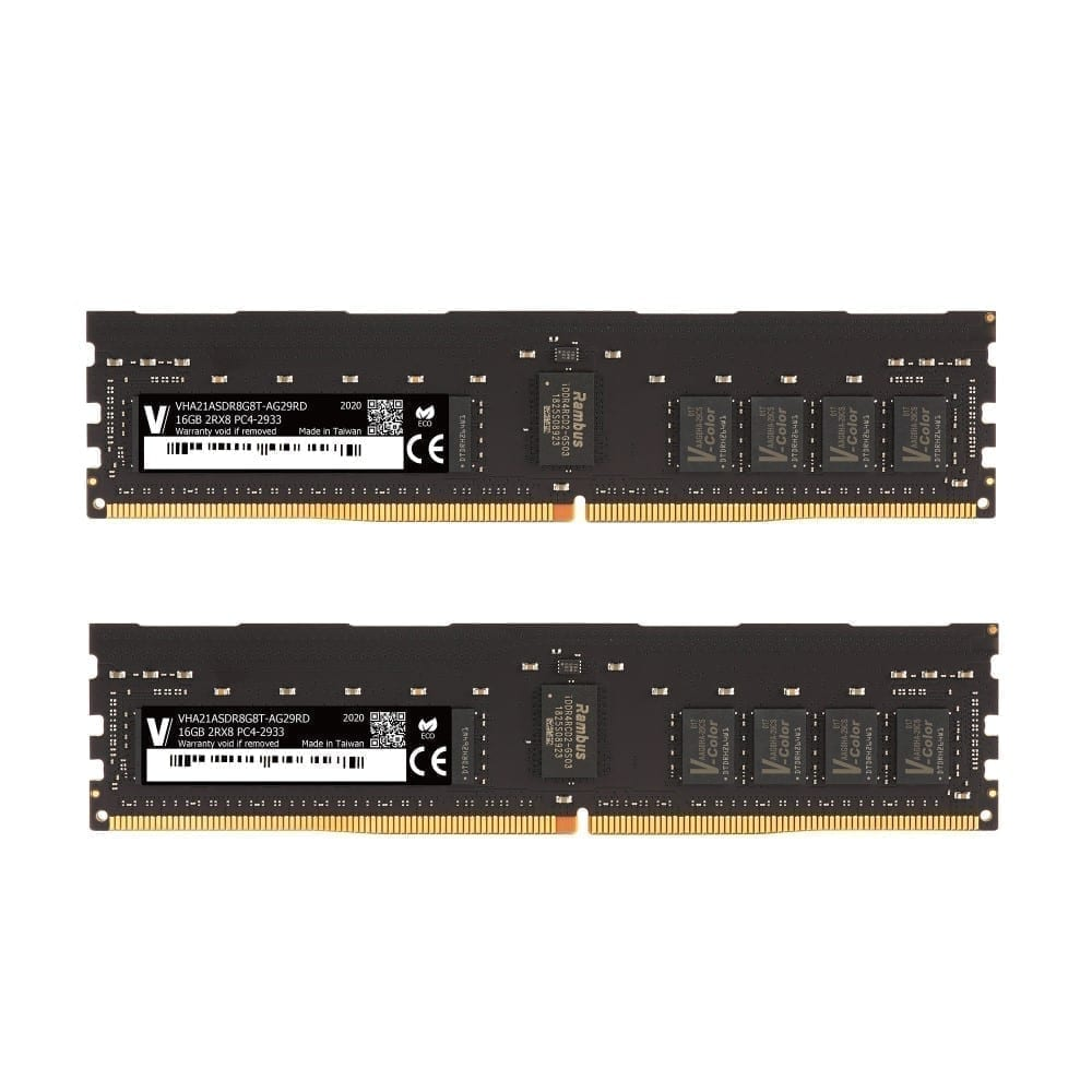 V-Color 32GB (2x16GB) DDR4 2933MHz Ram for Apple Mac Pro 2019 - (VHA21ASDR8G8T-AG29RD) 1