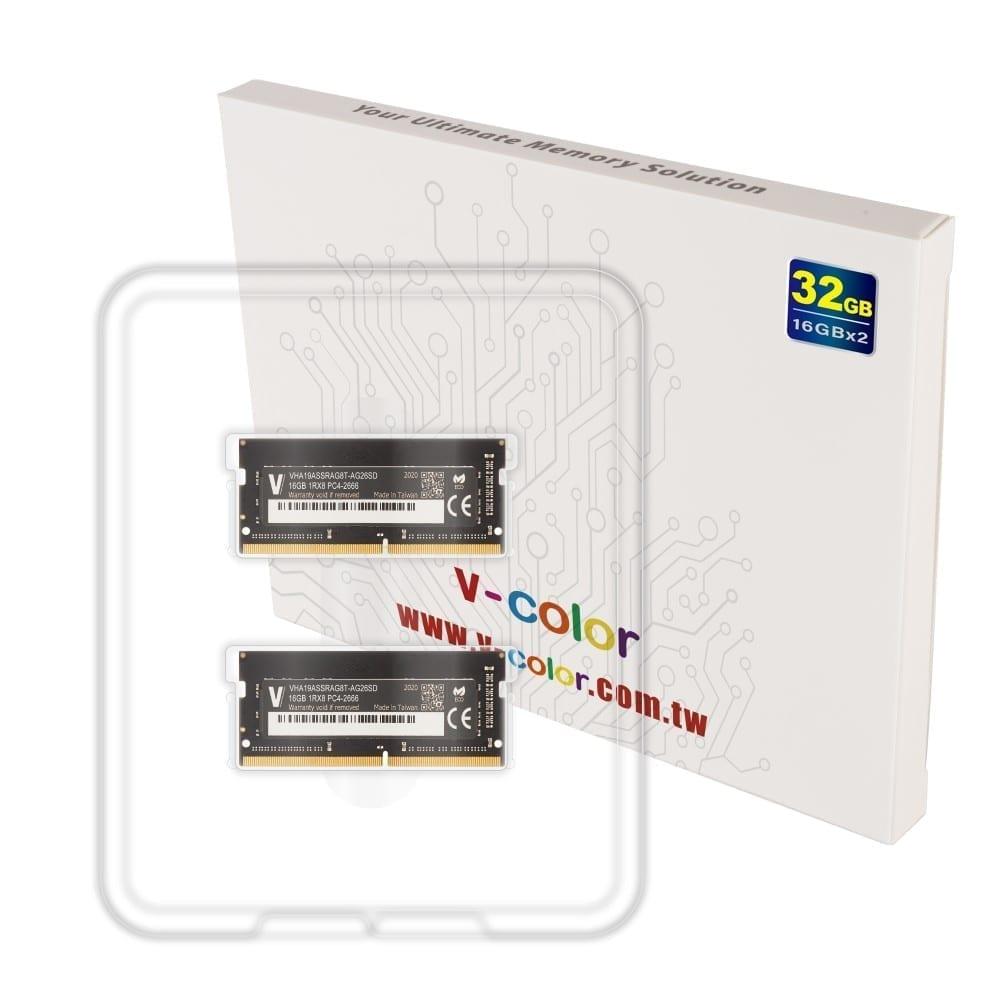 V-Color 32GB(2x16GB) DDR4 2666MHz RAM for Apple iMac 2020 & 2019 - (VHA19ASSRAG8T-AG26SD) 4