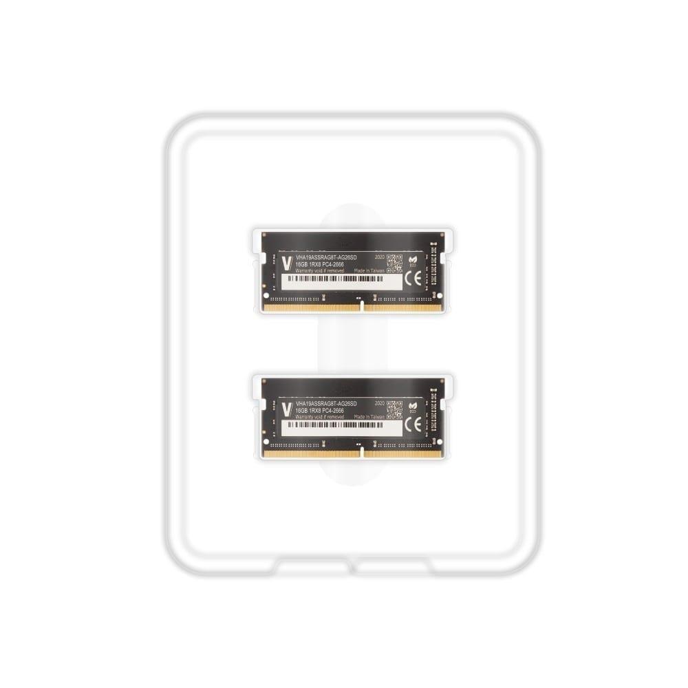 V-Color 32GB(2x16GB) DDR4 2666MHz RAM for Apple iMac 2020 & 2019 - (VHA19ASSRAG8T-AG26SD) 3