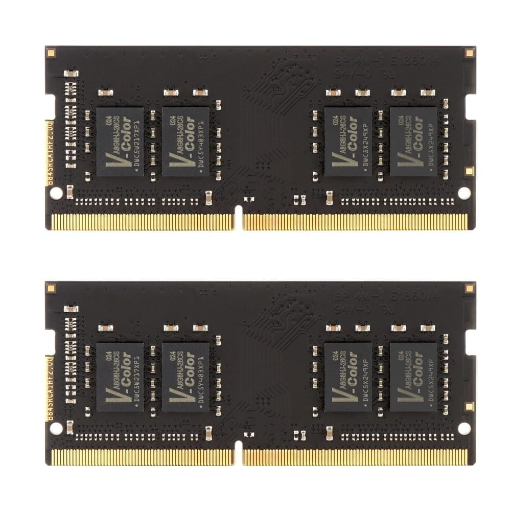V-Color 32GB(2x16GB) DDR4 2666MHz RAM for Apple iMac 2020 & 2019 - (VHA19ASSRAG8T-AG26SD) 2