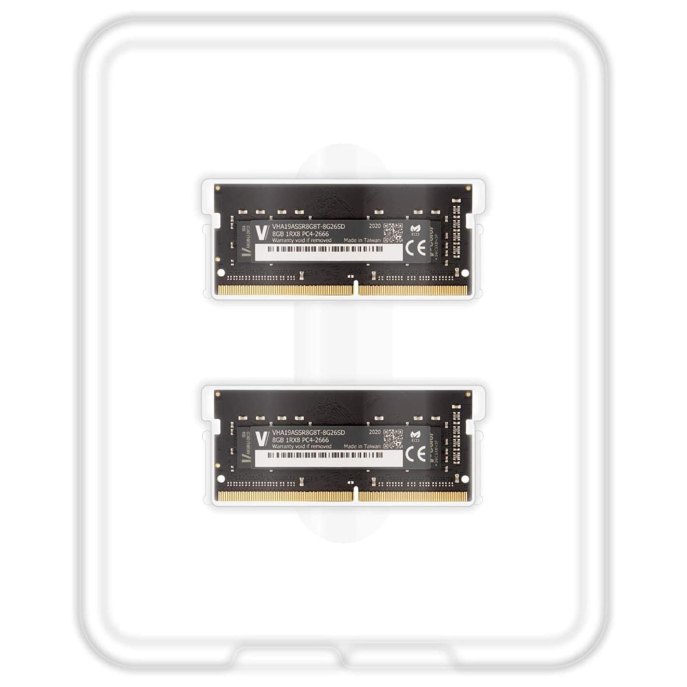 V-Color 16GB(2x8GB) DDR4 2666MHz RAM for Apple iMac 2020 & Late 2019 - (VHA19ASSR8G8T-8G26SD) 4