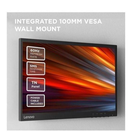"Lenovo Thinkvision C22-20 21.5"" FHD TN Monitor - 62A7KAT1UK 3"