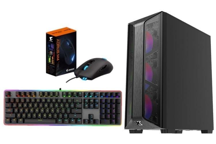 GeForce Gaming PC - Trio, Intel Core i5 10400f, 16GB DDR4, GeForce GTX 1660 Super, 240GB SSD, 1TB HDD, No OS 1