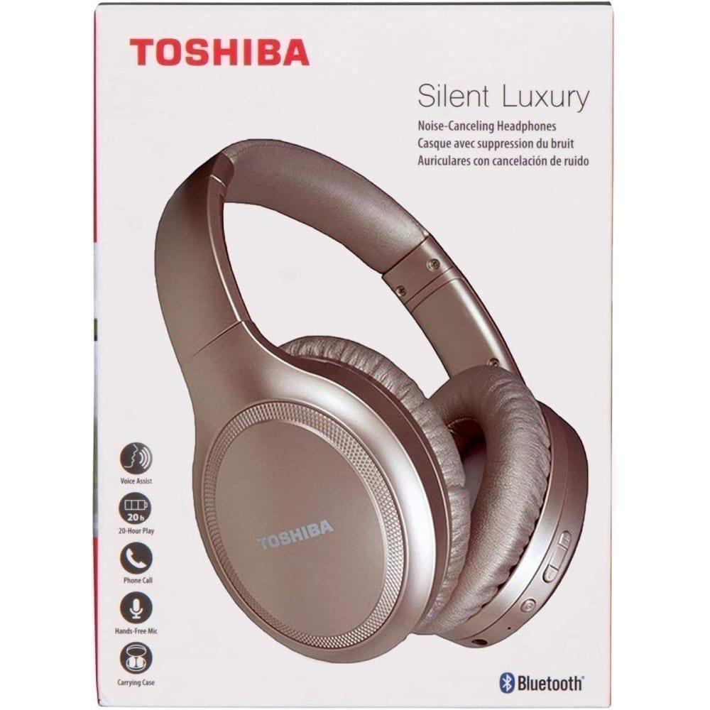 Toshiba Noise-Cancelling Wireless Headphones - RZE-BT1200H 7