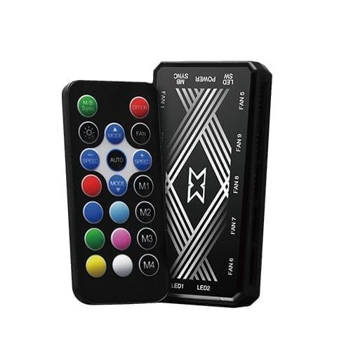 Xigmatek Galaxy III Essential ARGB Case Fans - EN45433 11