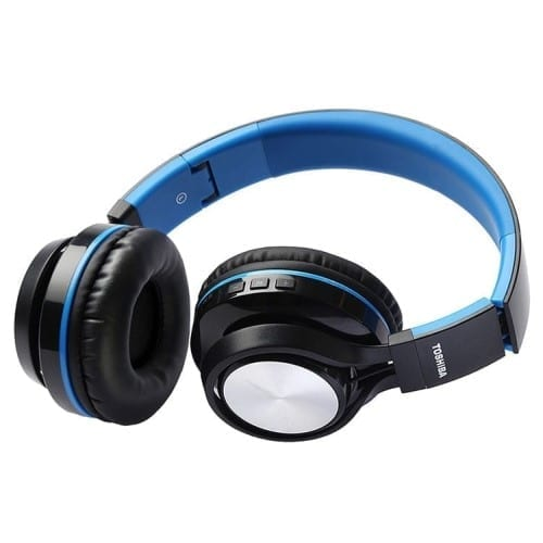 Toshiba Foldable Wireless Headphone + 1 FREE - RZE-BT200H 9