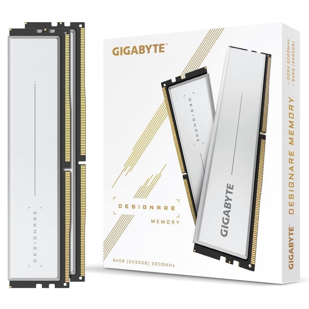 Gigabyte DESIGNARE Memory 64GB (2x32GB) 3200MHz - GP-DSG64G32 1