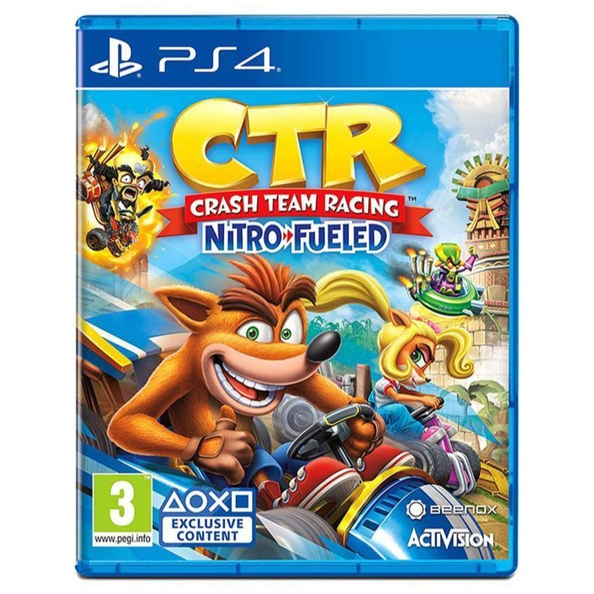 Crash Team Racing Nitro Fueled - For PlayStation 4 - PS49721 1