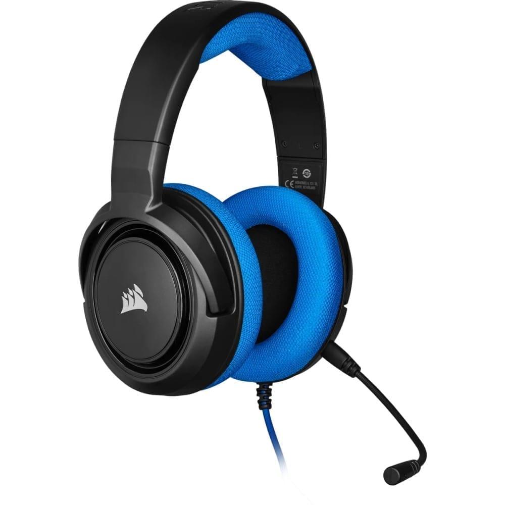 Corsair HS35 Stereo Gaming Headset — Blue - CA-9011196-NA 4