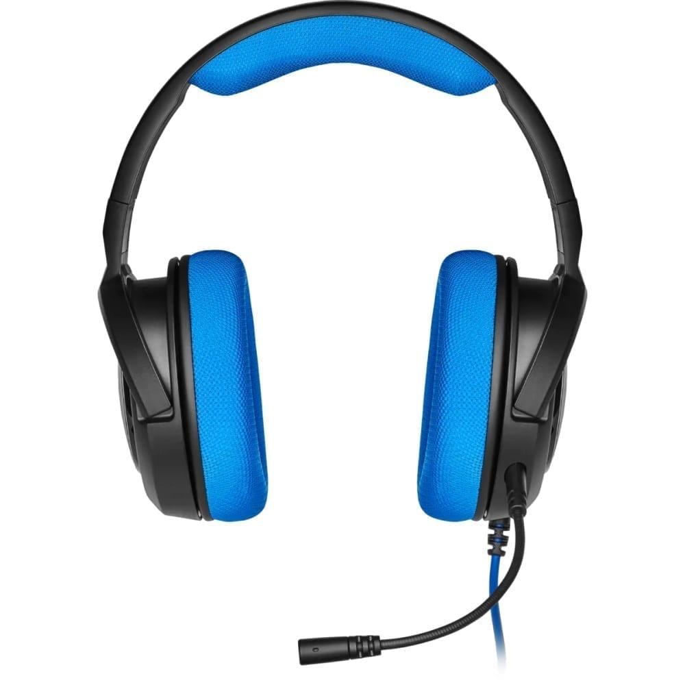 Corsair HS35 Stereo Gaming Headset — Blue - CA-9011196-NA 3