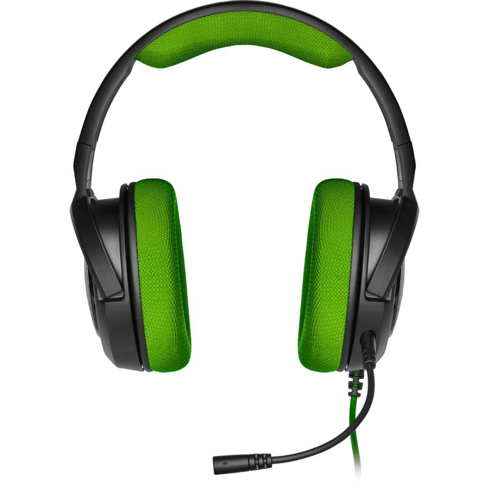 Corsair HS35 Stereo Gaming Headset — Green - CA-9011197-NA 5