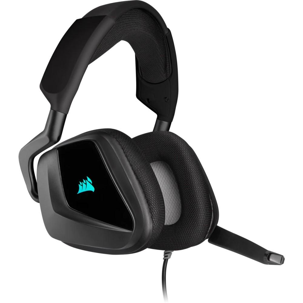 Corsair VOID RGB ELITE USB Premium Gaming Headset with 7.1 Surround Sound — Carbon 5