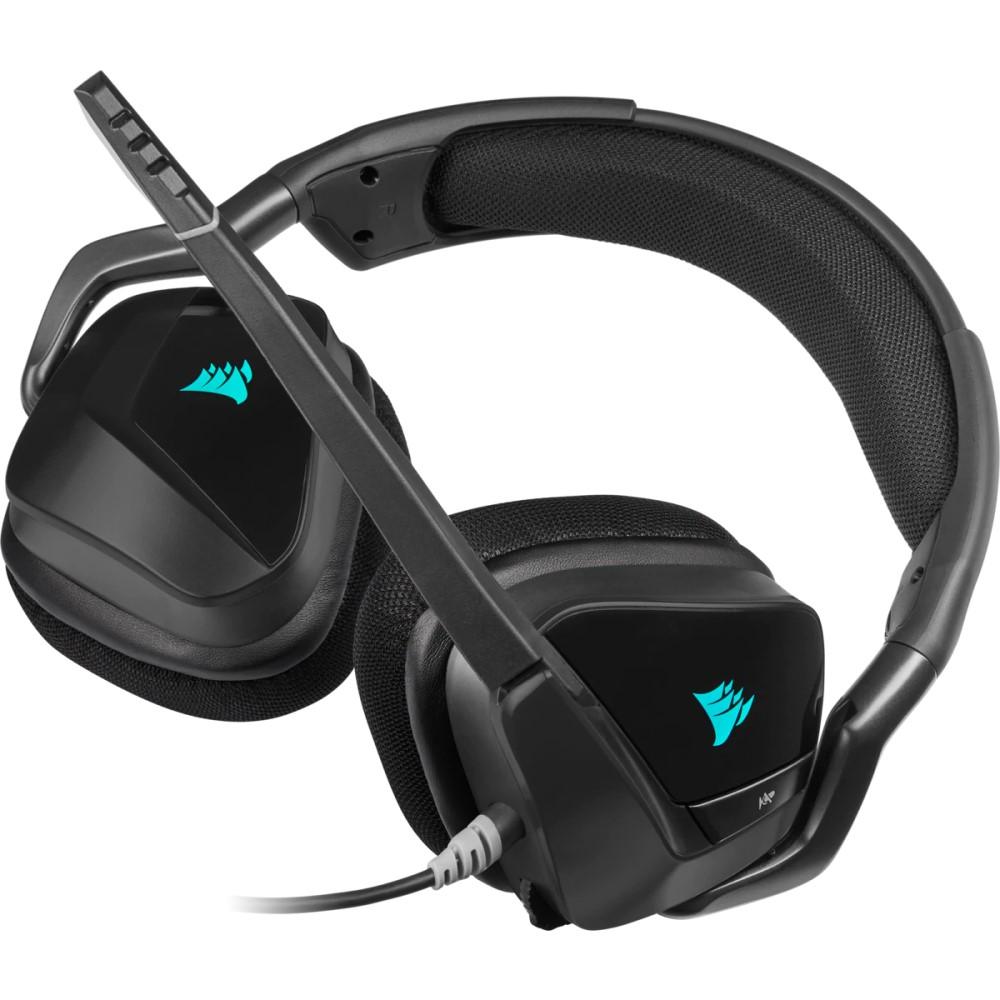 Corsair VOID RGB ELITE USB Premium Gaming Headset with 7.1 Surround Sound — Carbon 9