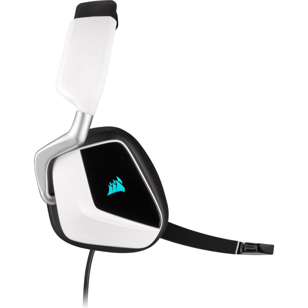 Corsair VOID RGB ELITE USB Premium Gaming Headset with 7.1 Surround Sound — White 5