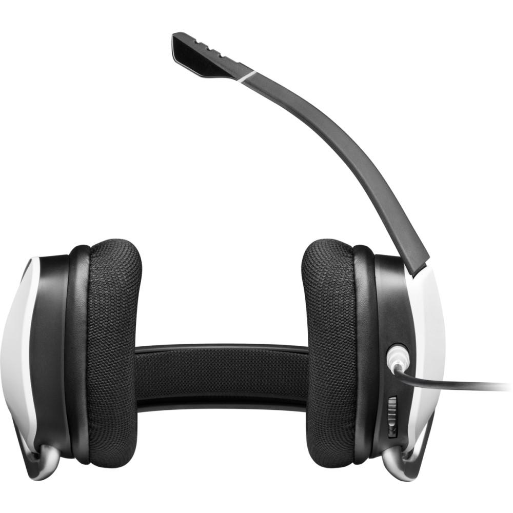 Corsair VOID RGB ELITE USB Premium Gaming Headset with 7.1 Surround Sound — White 2